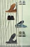 体育运动鞋类 库存照片