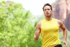体育运动-赛跑者。 免版税图库摄影