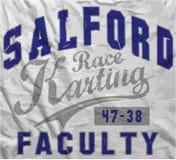 体育Salford种族人T恤杉图形设计 免版税库存图片