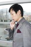 体贴企业中国的人 库存照片
