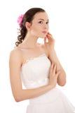 体贴的新娘 库存图片