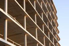 整体钢筋混凝土建筑 免版税库存照片