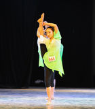 体质教训这全国舞蹈训练 库存照片