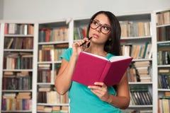 体贴的学生 免版税库存图片