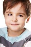 体贴的男孩 免版税图库摄影