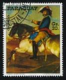 何塞在马背上Palafox将军弗朗西斯科de Goya 免版税图库摄影