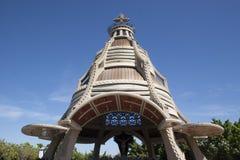 何塞安索阿特吉州委内瑞拉的基督何塞大教堂教会  免版税库存图片
