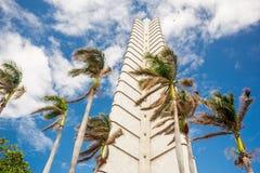 何塞马蒂纪念品 古巴哈瓦那 免版税库存图片