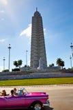 何塞马蒂纪念碑在哈瓦那,古巴 图库摄影