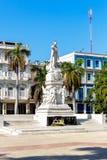 何塞马蒂雕象在哈瓦那 免版税库存照片