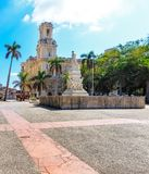 何塞马蒂雕象在哈瓦那 免版税图库摄影