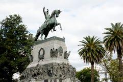 何塞De圣马丁省-科多巴-阿根廷将军雕象  免版税库存照片