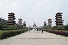 佛光山Budda博物馆, Kaosiung,台湾 免版税库存照片