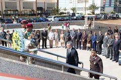 佛得角的豪尔赫卡洛斯Almeida丰塞卡湾总统, 免版税库存照片