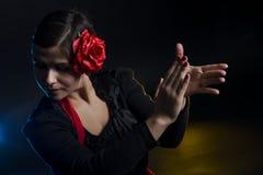 佛拉明柯舞曲舞蹈 图库摄影