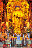 佛教中国人寺庙 库存图片