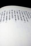 佛教中国sutra 免版税库存图片