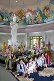 佛教人寺庙 免版税库存图片