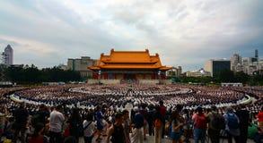 佛教人道主义组织庆祝每年母亲` s天事件的慈济基金会在城镇Kai她 免版税库存照片