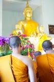 佛教修士6月29日 库存图片
