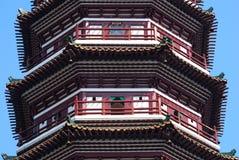 佛教六个榕树寺庙,广州,中国 免版税库存照片