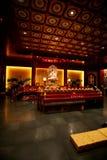 佛教内部寺庙 库存图片