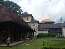 佛教历史老安排寺庙泰国 免版税图库摄影