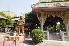 佛教古庙 库存照片