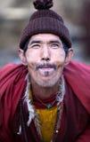 佛教喇嘛纵向村庄 免版税库存图片