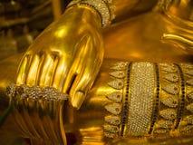 佛教圣徒首饰雕象 库存图片