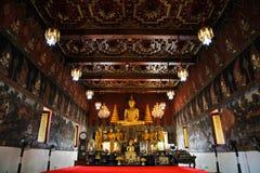 佛教墙壁艺术 库存照片