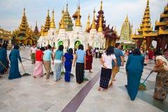 佛教复合献身者转移 免版税库存图片