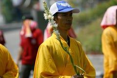 佛教宗教仪式 图库摄影