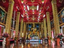 佛教寺庙。 库存图片