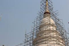 佛教寺庙修造 免版税库存照片