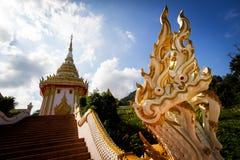 佛教寺庙入口  免版税图库摄影