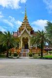 佛教寺庙在东南亚 免版税库存图片