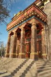 佛教寺庙在圣彼德堡 库存照片