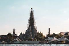 佛教寺庙在曼谷,泰国 免版税库存照片