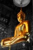 佛教寺庙在泰国。 菩萨 免版税库存图片
