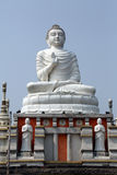 佛教寺庙在豪拉,印度 免版税库存图片