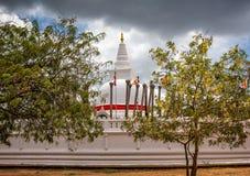 佛教寺庙在Anuradhapua,斯里兰卡 库存图片