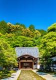 佛教寺庙在Nanzen籍地区-京都 免版税库存照片
