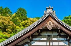 佛教寺庙在Nanzen籍地区-京都 免版税图库摄影