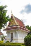 佛教寺庙地标在Wat亚伊彭世洛,泰国的 图库摄影