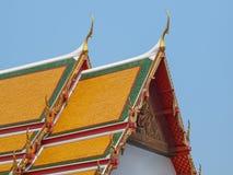 佛教寺庙屋顶 免版税库存图片