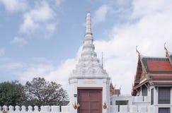 佛教寺庙白色 免版税库存照片