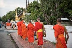 佛教寺庙的修士 库存照片