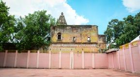 佛教寺庙的看法在阿格拉,印度 免版税库存照片
