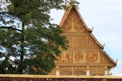 佛教寺庙老挝 库存图片